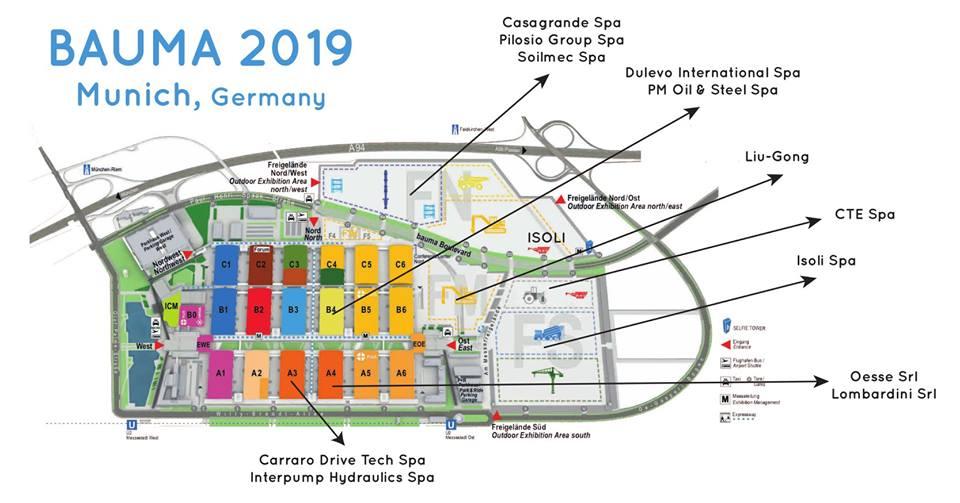 Bauma 2019 - Munich - Backstage Hospitality Services
