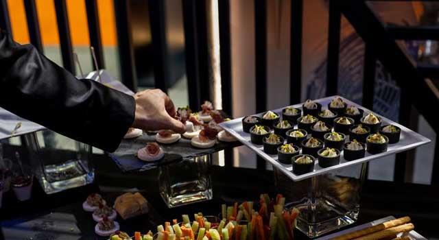 catering per fiera